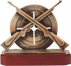 Rifle Pewter Trophy - BEL260