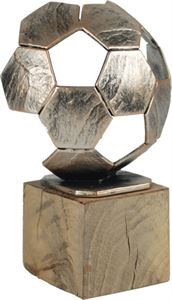 Small Pewter Football Trophy - BEL371