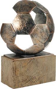Large Pewter Football Trophy - BEL372