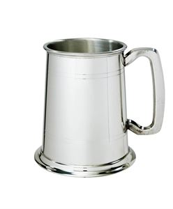 Standard Double Lined 1 Pint Pewter Tankard - A238