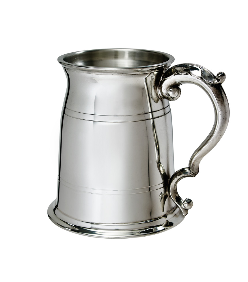 Standard Old London 1 Pint Pewter Tankard - A241