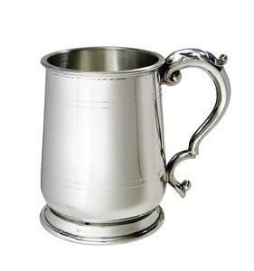 Standard Jacobean 1 Pint Pewter Tankard - A228
