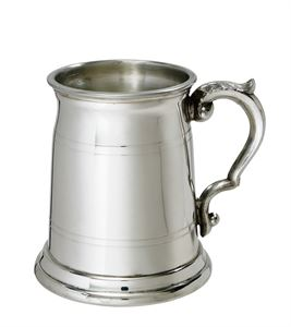 Half Pint Old London Pewter Tankard - C241