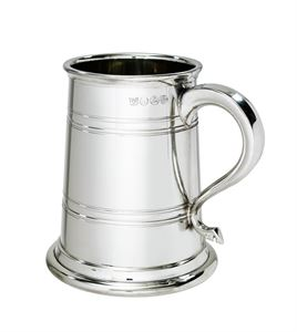 Heeley Pewter 1 Pint Lined Tankard - A420