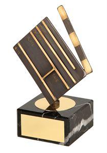 Clapperboard Handmade Metal Trophy - 444