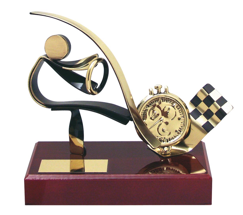 Racing Car Handmade Metal Trophy 300 Au Impact Trophies