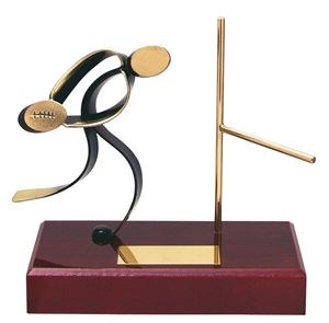 Rugby Player Handmade Metal Trophy - 300 RU