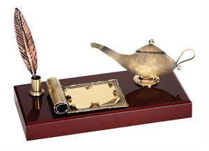 Lamp of knowledge Handmade Metal Trophy - 480