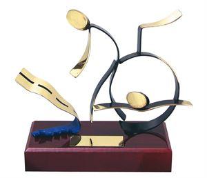 Triathlon Handmade Metal Trophy - 300 TH