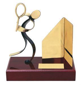Squash Handmade Metal Trophy - 300 SQ