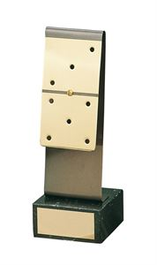 Domino Strip Handmade Metal Trophy - 833