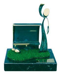 Football Coach Handmade Metal Trophy  - 779 ENT