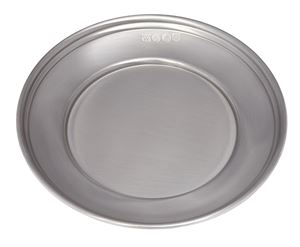 Small Antique Finish Pewter Plate - 46ANT