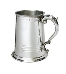 Worcester 1 Pint Pewter Tankard - A142