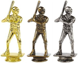 Male Baseball Trophy Figure Top Only - T.6120