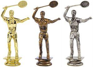 Female Badminton Trophy Figure Top - T.7010-2