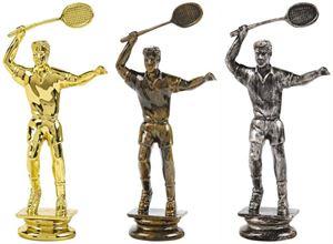 Male Badminton Trophy Figure Top - T.7007-9