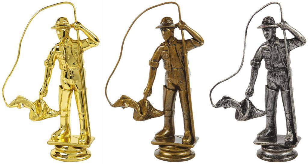 Fisherman Trophy Figure Top - T.6129-31