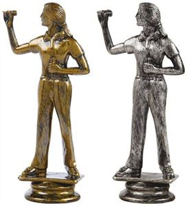 Female Darts Trophy Figure Top - T.5232-3