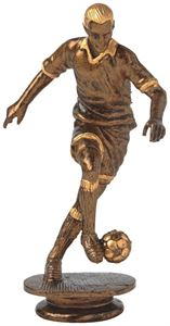 Antique Gold Footballer Trophy Figure Top - T.1775