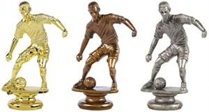 Male Footballer Trophy Figure Top - T.9756, T.9694 & T.9695