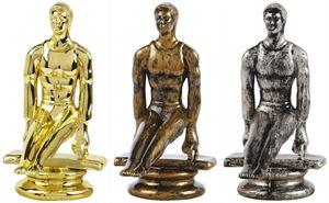 Male Gymnastics Trophy Figure Top - T.6847-9