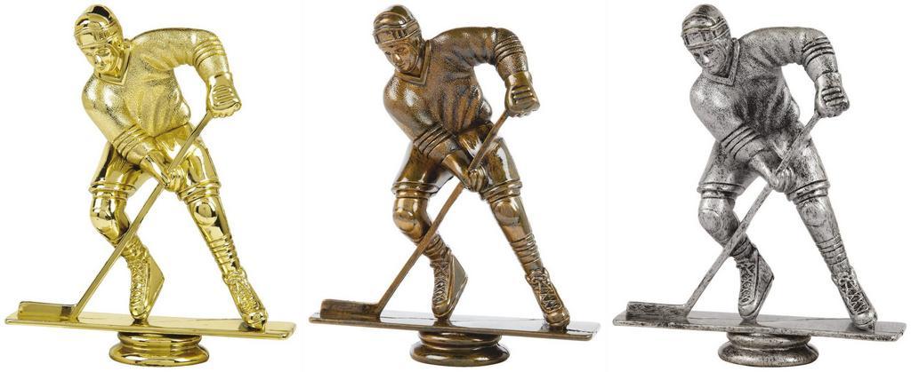 Ice Hockey Trophy Figure Top - T.6141-3