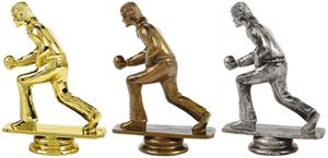 Male Lawn Bowls Trophy Figure Top - T.6114-6