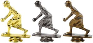 Female Lawn Bowls Trophy Figure Top - T.6117-9