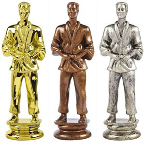 Martial Arts Trophy Figure Top - T.8833