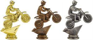 Motor Cross Trophy Figure Top - T.6087-9