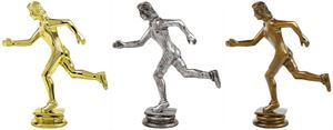 Female Running Trophy Figure Top - T.6105-7