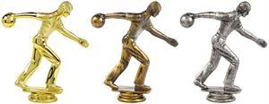 Male Ten Pin Bowling Trophy Figure Top - T.6093-5