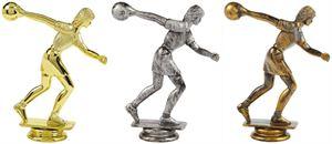 Female Ten Pin Bowling Trophy Figure Top - T.6096-8