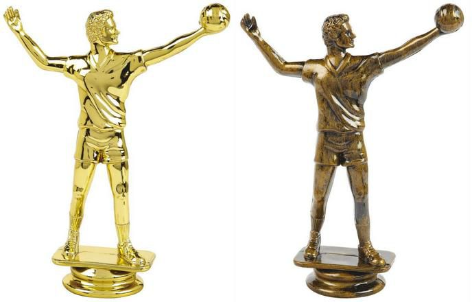 Male Volleyball Trophy Figure Top - T.6132-3