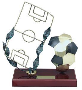 Football Field Handmade Metal Trophy - 696