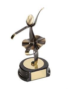 Ballet Dancing Handmade Metal Trophy - 464