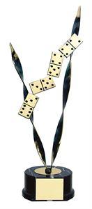 Arm Of Dominoes Handmade Metal Trophy - 641