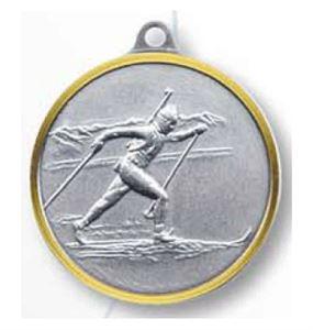 Bulk Purchase - Skiing Biathlon Brass Medal - 326