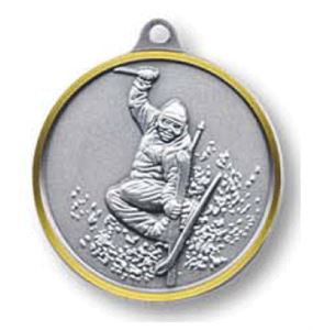 Bulk Purchase - Free Style Skiing Brass Medal - 319