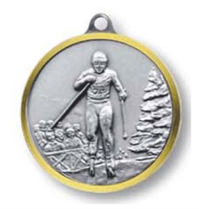 Bulk Purchase - Cross Country Skiing Brass Medal - 320