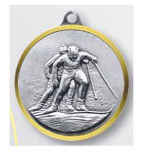 Bulk Purchase - Cross Country Skiing Dash Brass Medal - 321