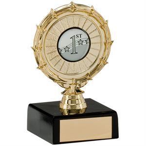 Spiral Multi-Sport Trophy - TR1657B Gold