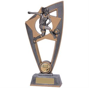 Star Blast Football Female Trophy - PL18026