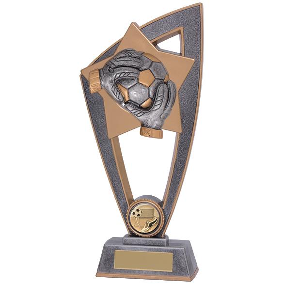 Star Blast Football Goalkeeper Trophy - PL18141