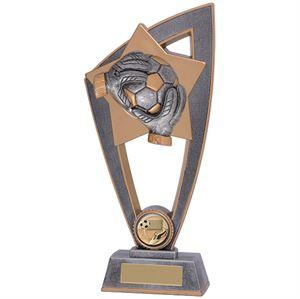 Star Blast Football Goalkeeper Trophy