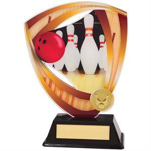 Fortress Acrylic Ten Pin Bowling Trophy  - AC18513