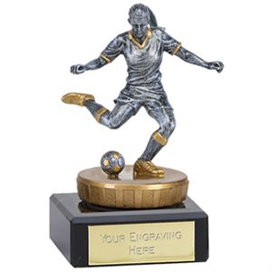 Classic Flexx Female Footballer Trophy - 137A.FX116