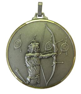 Embossed Archery Medals