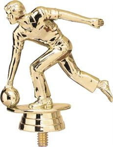 Figure Top Ten Pin Bowling Trophies
